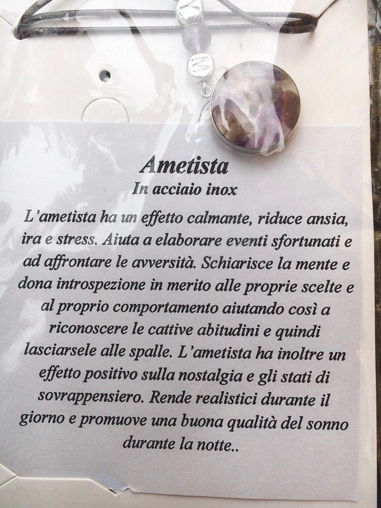Collana In Ametista