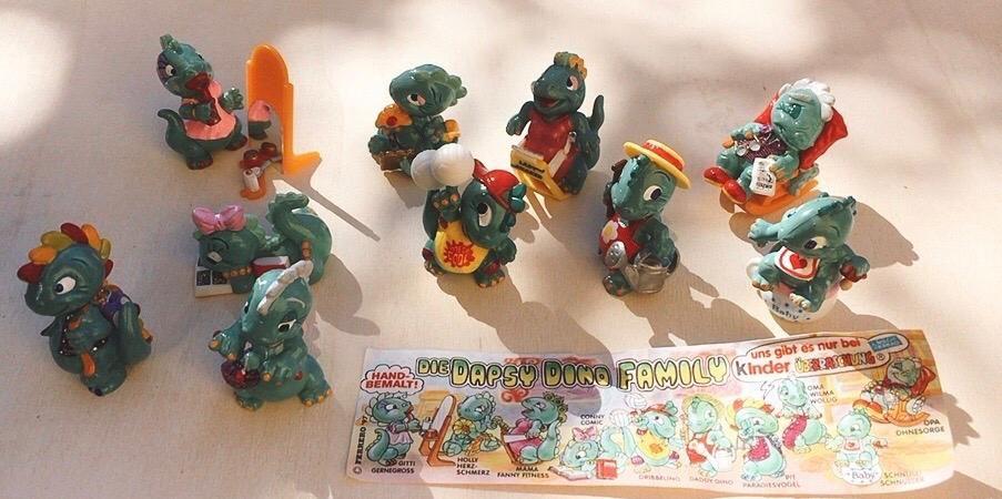 Collezione Kinder Dapsy Dino