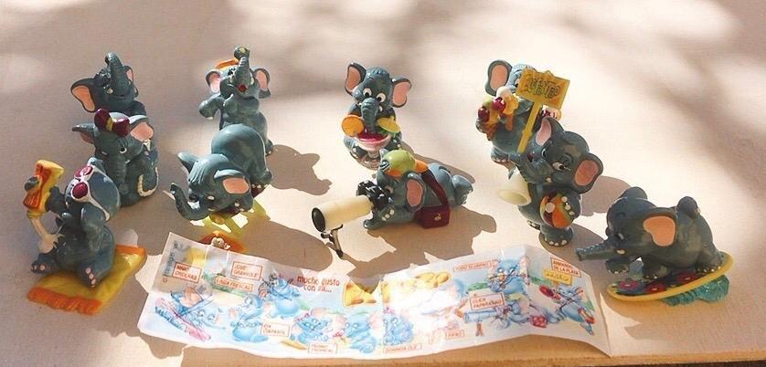 Collezione Kinder Elefantao