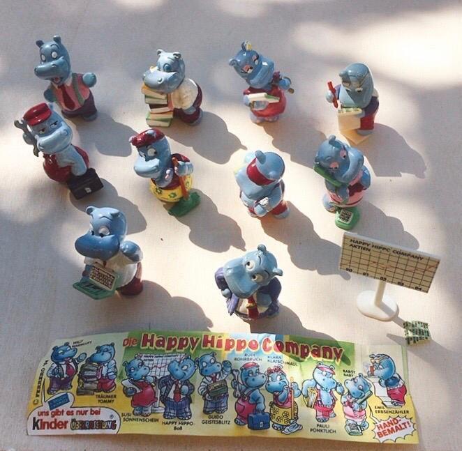Collezione Kinder Happy Hippos Company