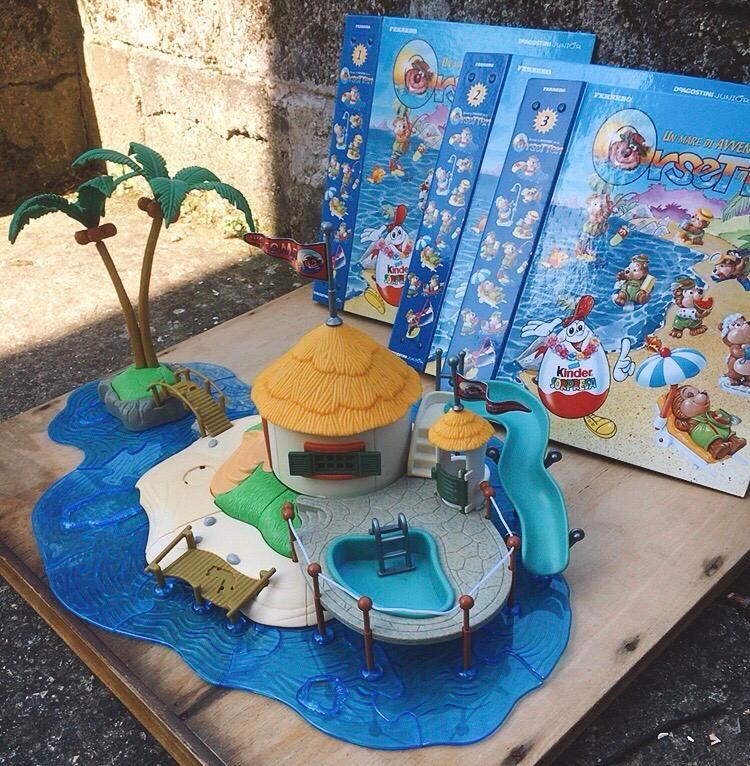 Isola Orsetten Diorama
