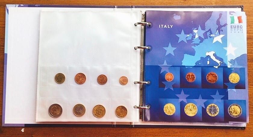 Collezione Monete Euro Italia