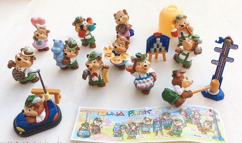 Kinder Wolksfeststimmung 1996