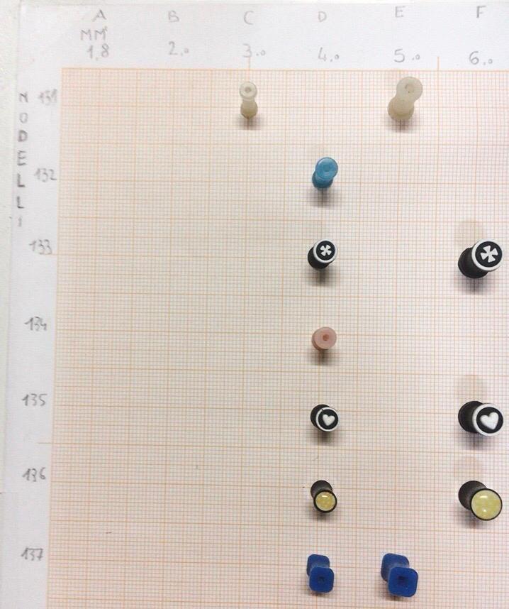 Piercing Dilatatori 131-143