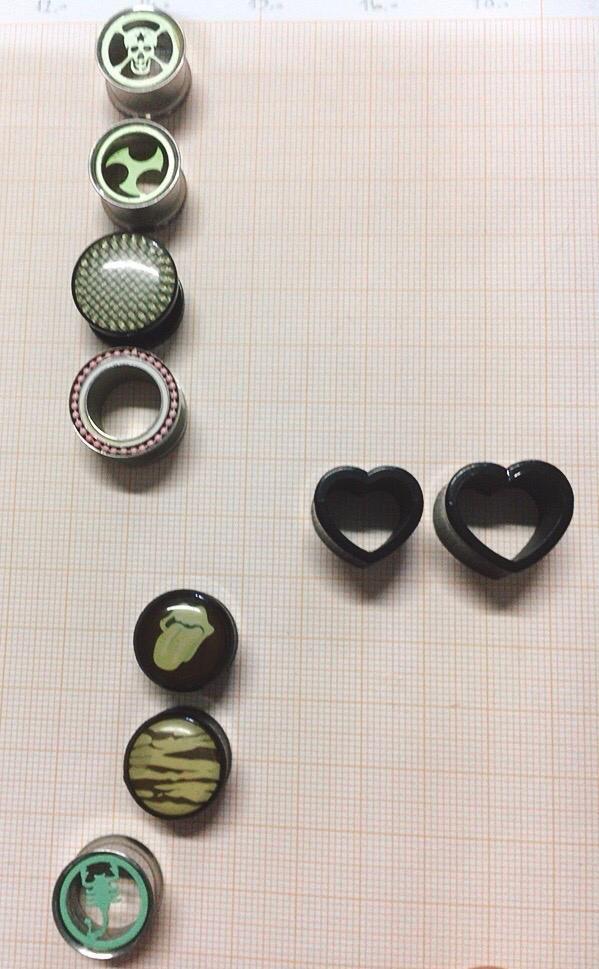 Piercing Dilatatori 274-286