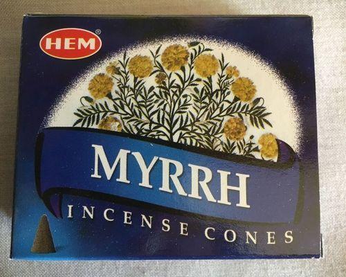 Incenso Coni Mirra Hem35