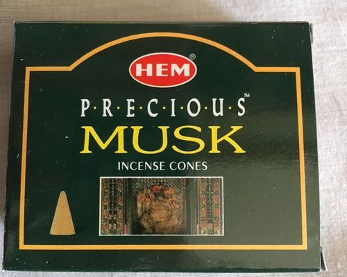 Incenso Coni Muschio Hem37