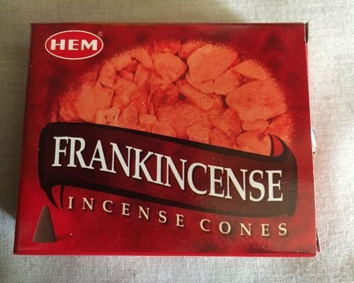 Incenso Coni Frankincense Hem38