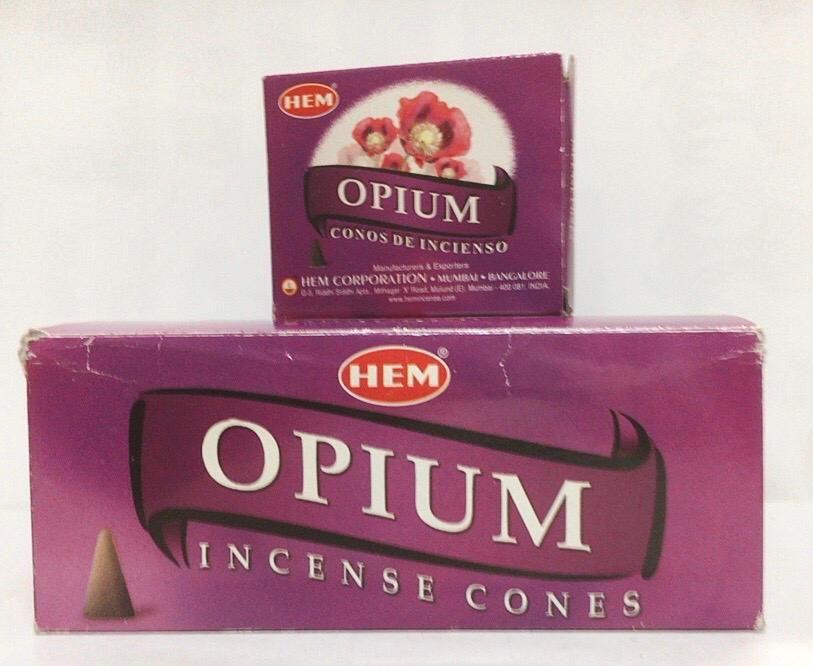 Incenso Coni Opium Hem39