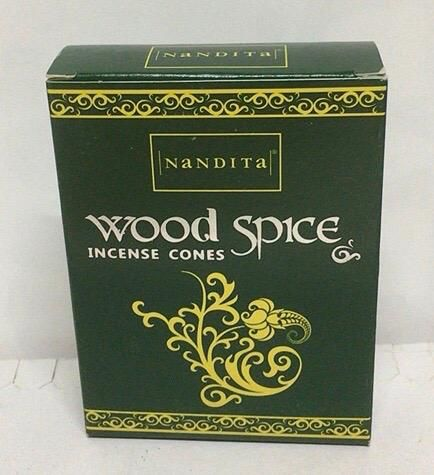 Incenso Coni Nandita Wood Spice Nan51
