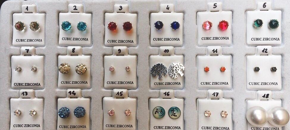 Orecchini Zirconia CZ01/36