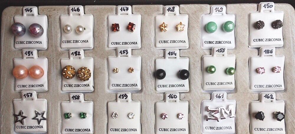 Orecchini Zirconia CZ145/180