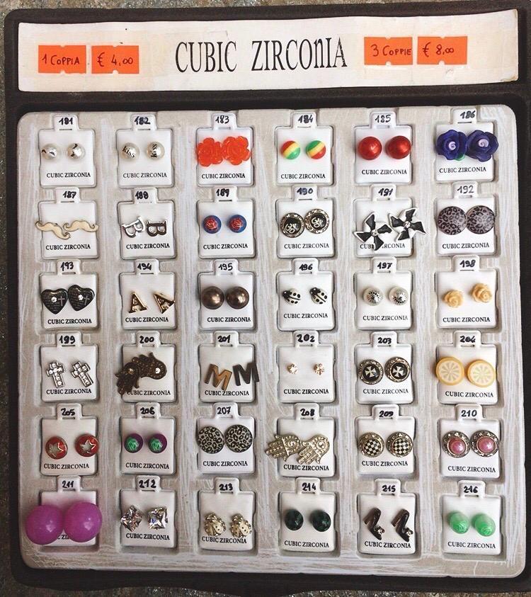 Orecchini ZirconiaCZ181/216