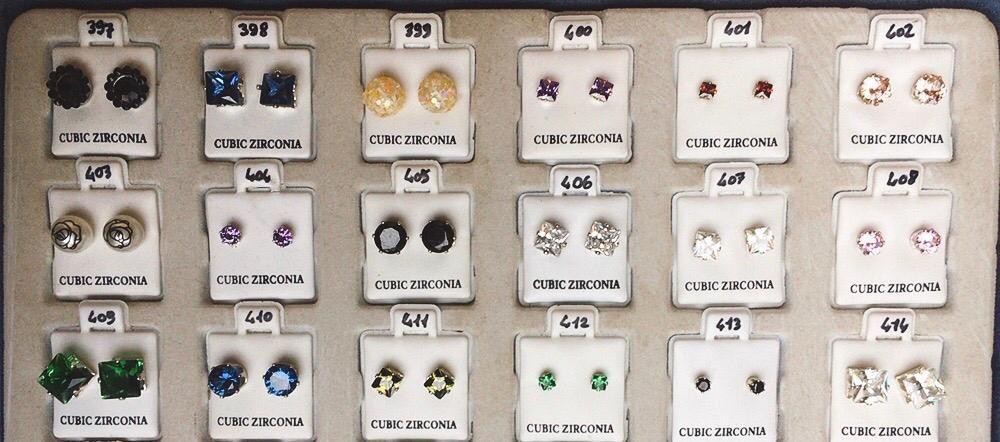 Orecchini Zirconia CZ397/432