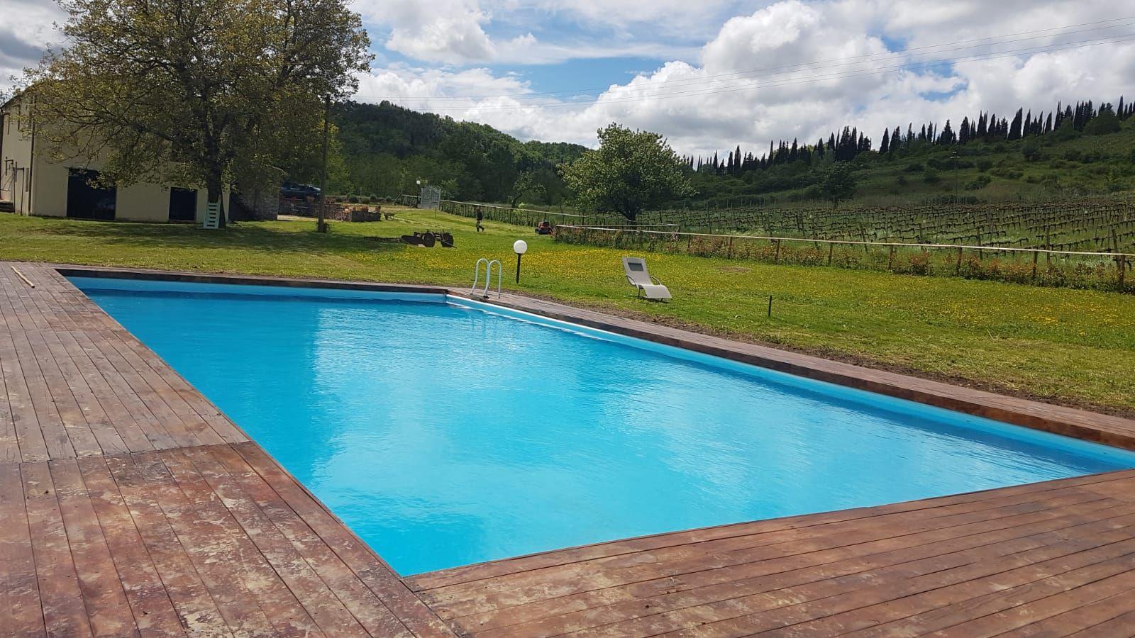 Cascinale nel Chianti a 16 km da Firenze per feste