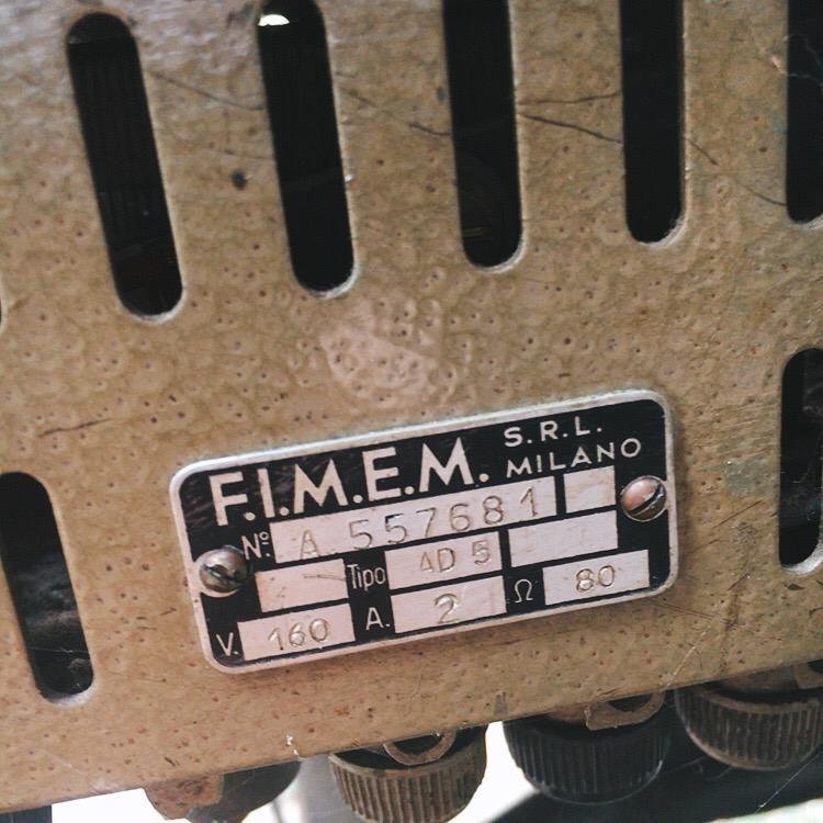 Macchina da Cucire Pfaff Vintage MCu01