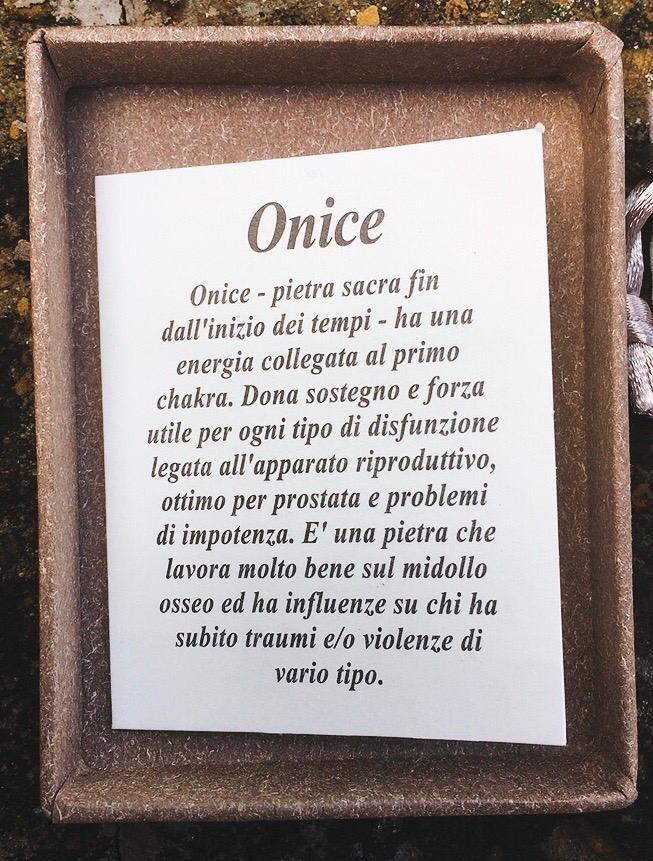 Braccialetto in Onice BOni01