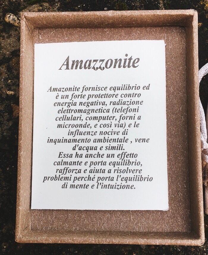 Braccialetto Amazzonite BAma03