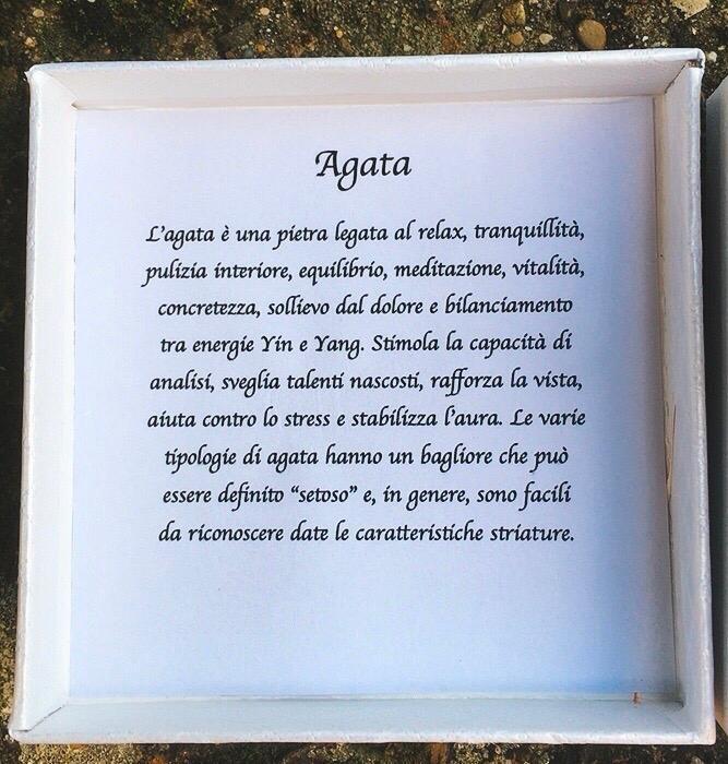 Braccialetto Agata Verde BAga19