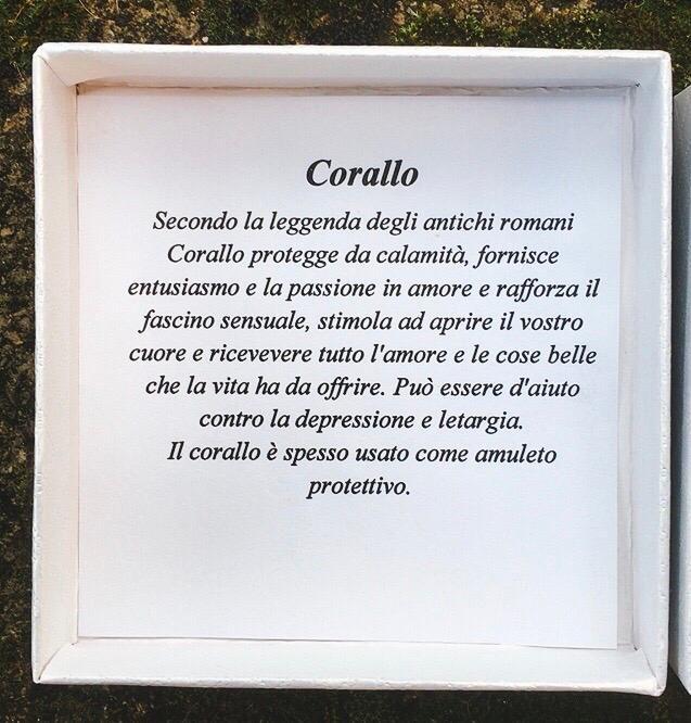 Braccialetto Corallo BCor09