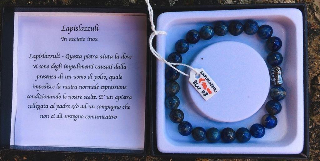 Braccialetto Lapislazzuli BLap08