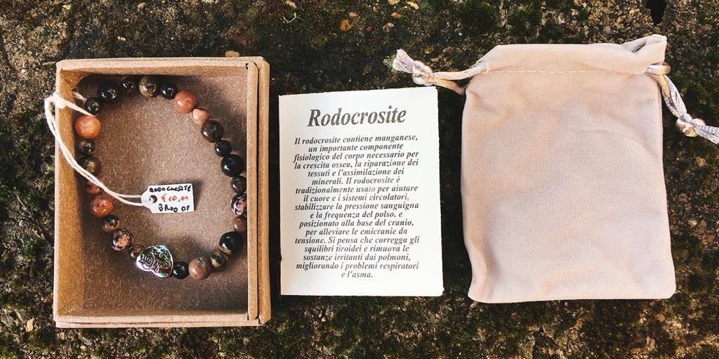 Braccialetto in Rodocrosite BRod01