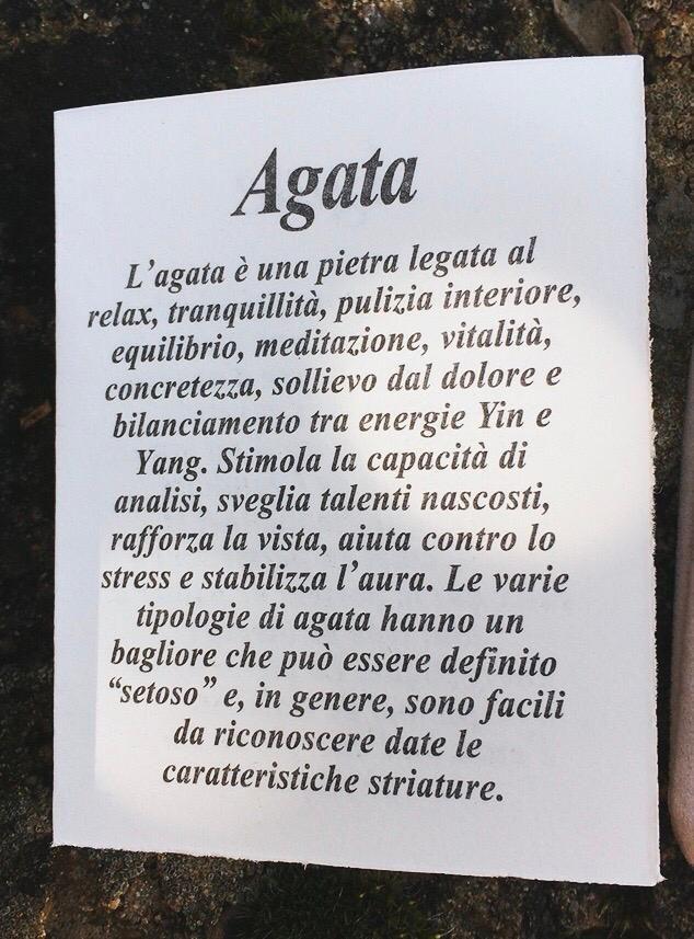 Braccialetto Agata Blu e Angelo BAga38