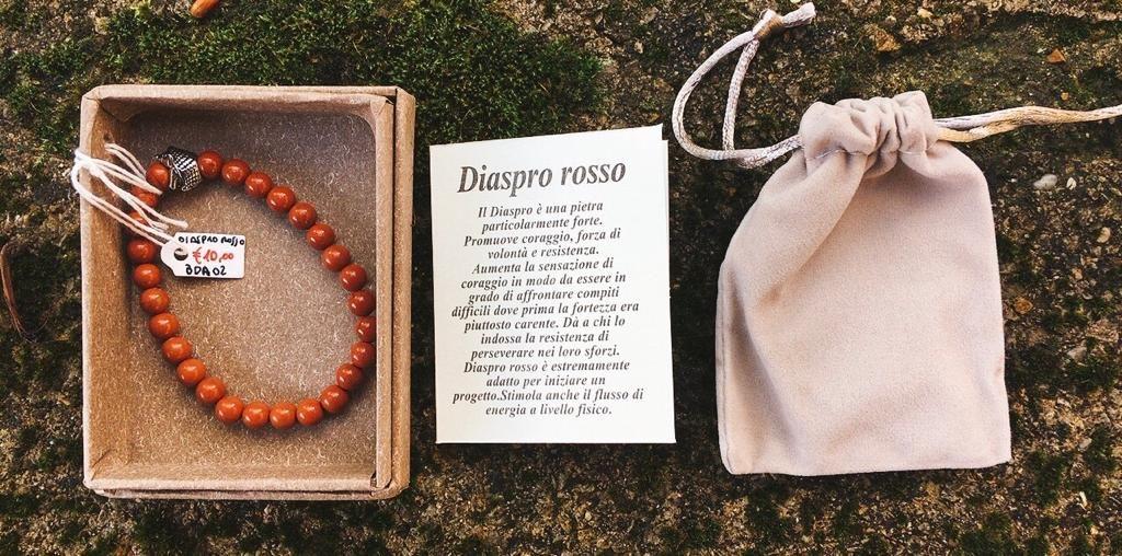 Braccialetto Diaspro Rosso BDR02