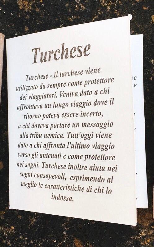 Braccialetto in Turchese BTur12
