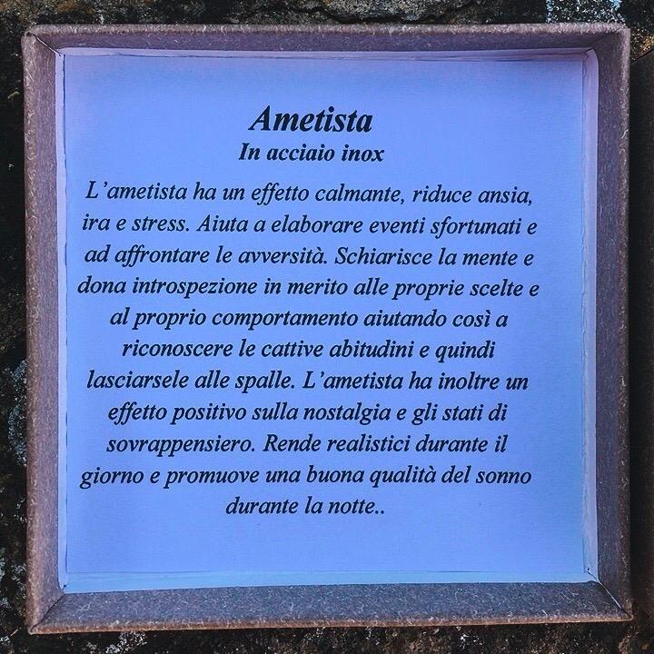 Braccialetto in Ametista BAme91