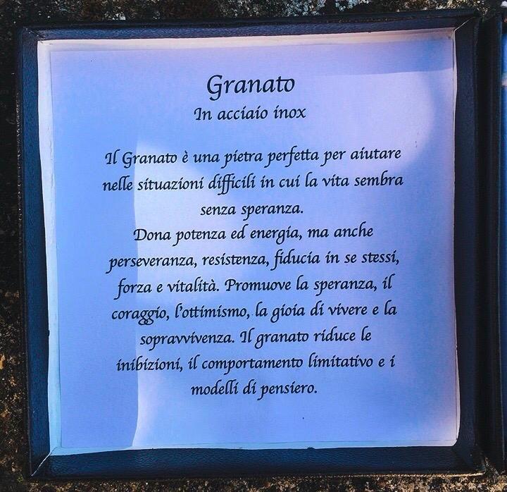 Braccialetto in Granato BGra01