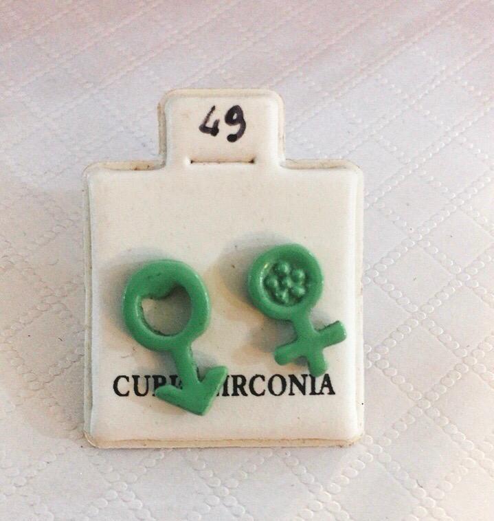 Coppia Orecchini Uomo Donna CZ49
