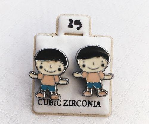 Coppia Orecchini Bambini CZ29