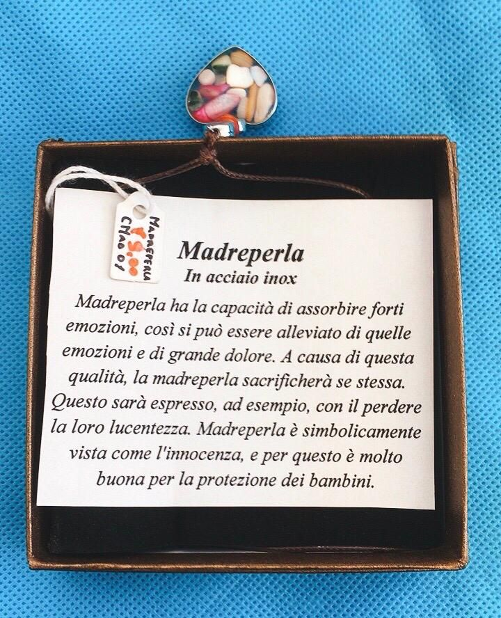 Collana Ciondolo Madreperla CMad01
