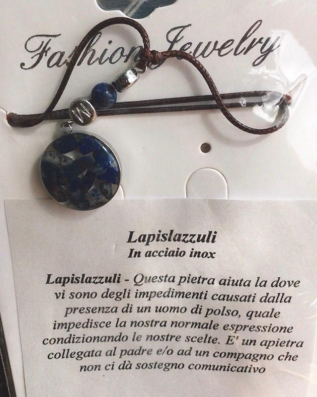 Collana Ciondolo Lapislazzuli CLap02
