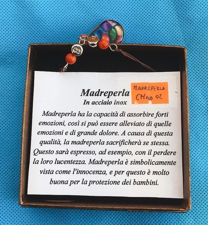 Collana cCiondolo Madreperla CMad02