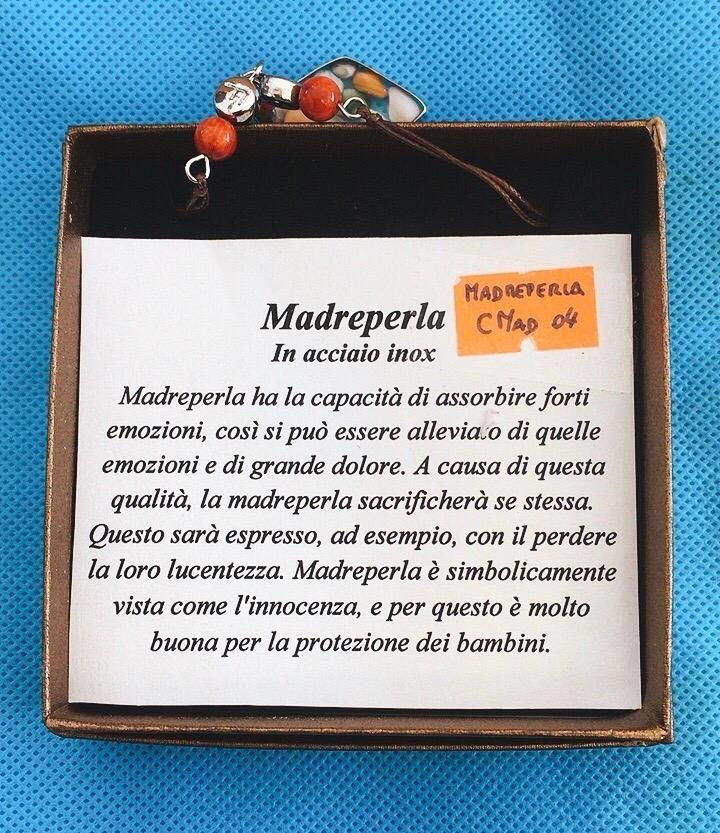 Collana Ciondolo Madreperla CMad04