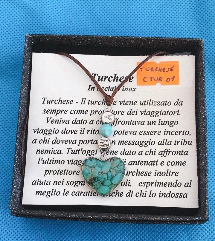 Collana Ciondolo Turchese CTur01