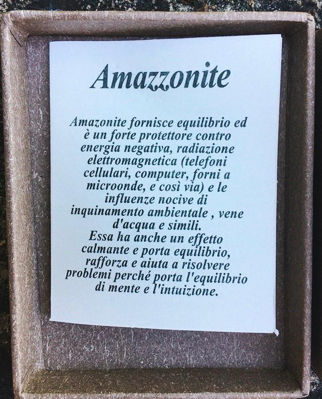 Collana Amazzonite Albero Vita CAma04