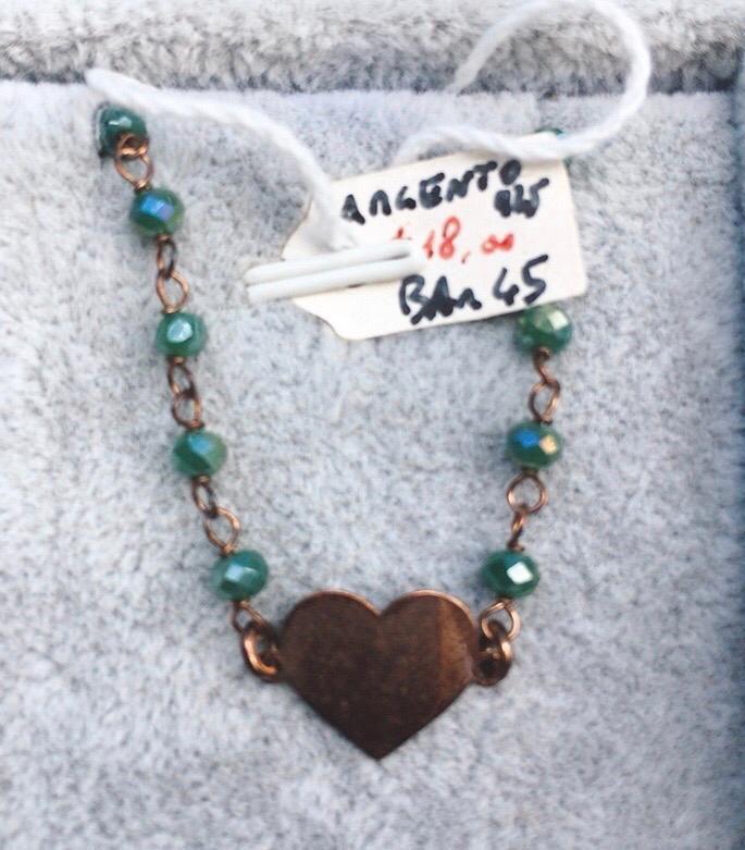 Braccialetto Argento 925 Cuore BAr45