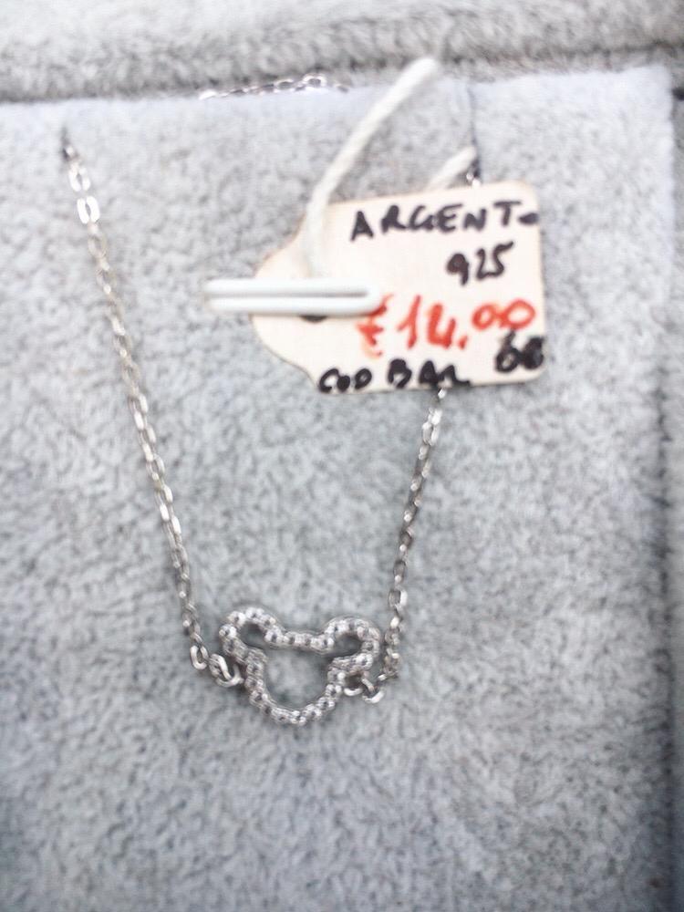 Braccialetto Argento 925 Topolino BAr60