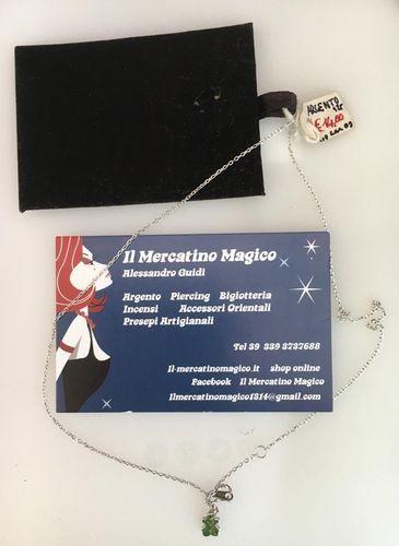 Collana Argento 925 Orsetto CAr98