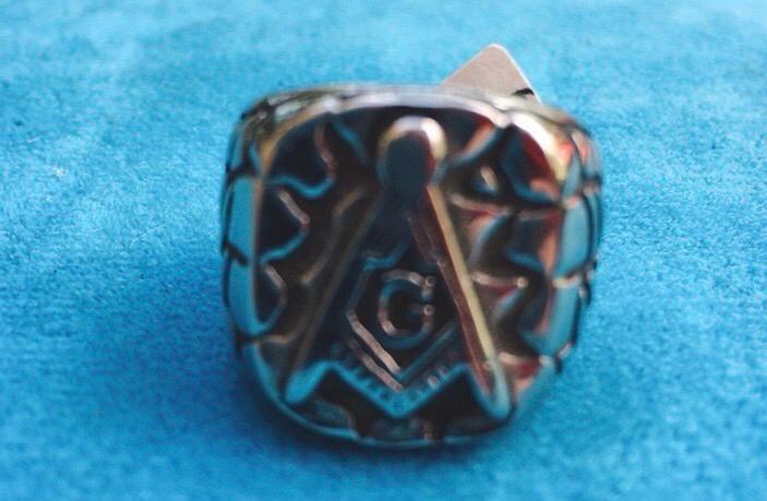 Anello Acciaio Illuminati Ane49