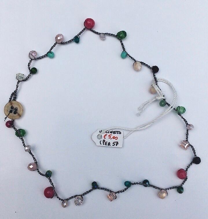 Collana perline Uncinetto CPer57