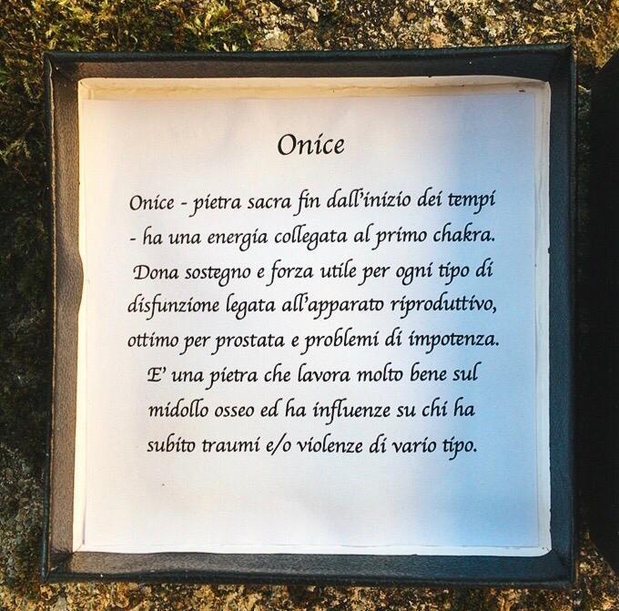 Braccialetto Onice Agata BOni102