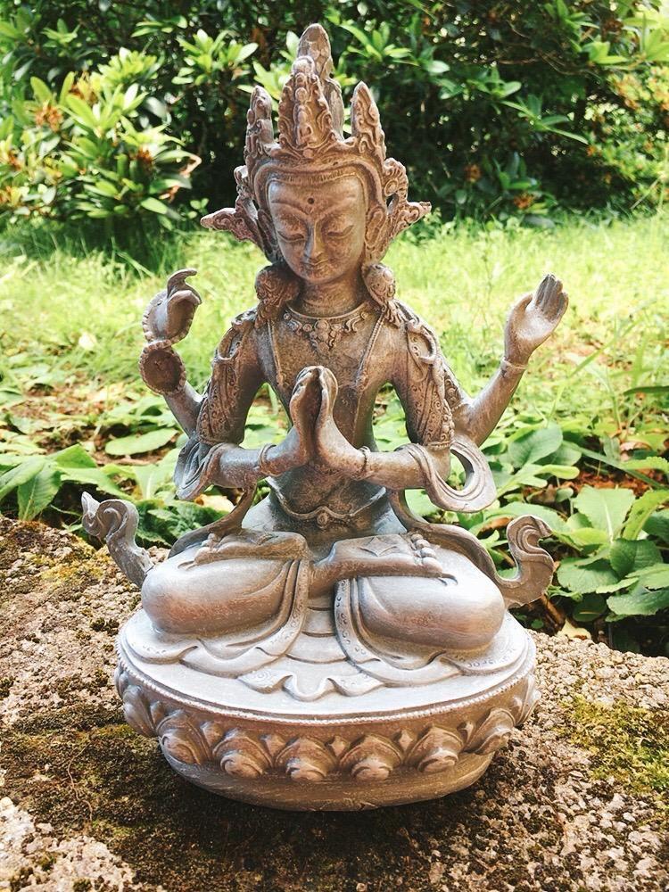 Statua Buddha Compassione Cenresing 0125