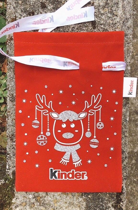 Calza di Natale Kinder NAdd252