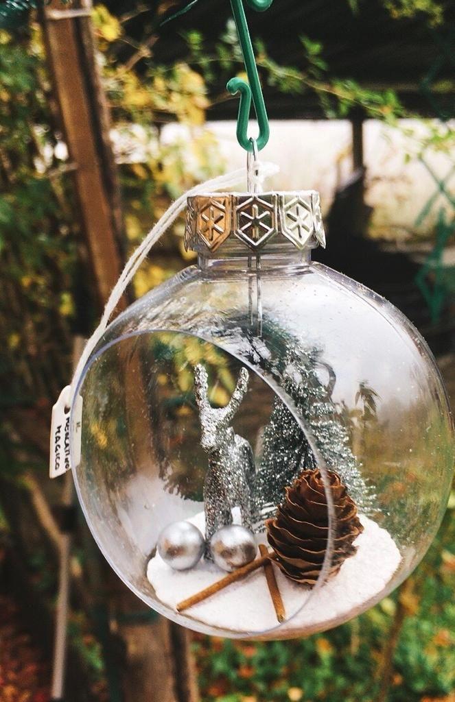 Pallina Natale Argento NAdd256