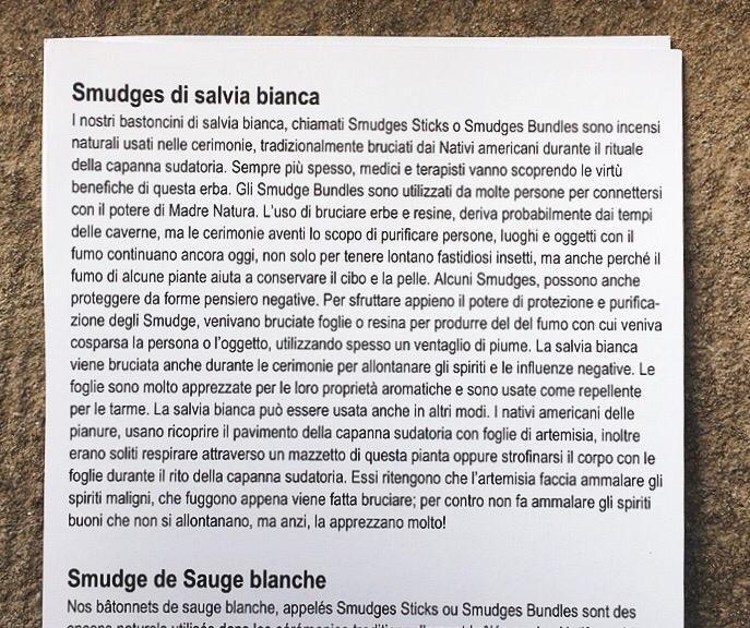 Salvia Bianca Smudge 5233/1