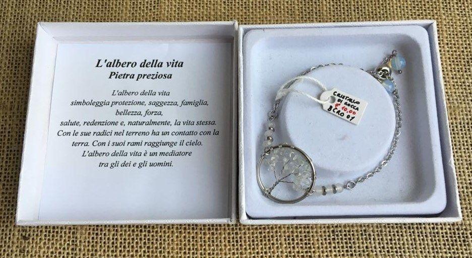 Braccialetto Cristallo Rocca Albero Vita BCRo01